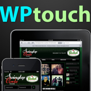 wp touch wordpress